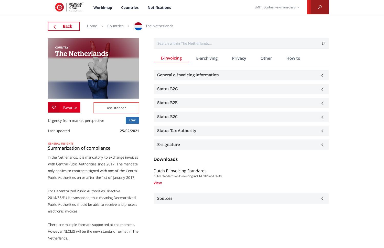 Platform: Electronic Invoicing Global